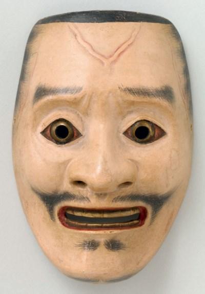 Noh Mask of Suji-Ayakashi